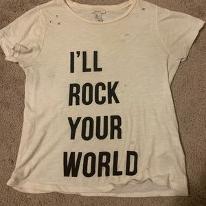Forever 21 Graphic Rock Tee
